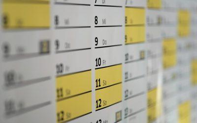 Få styr på dit liv med en vægkalender