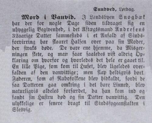 Mordet i Snogbæk
