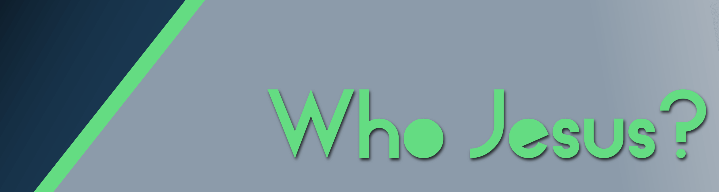 Who Jesus graphic
