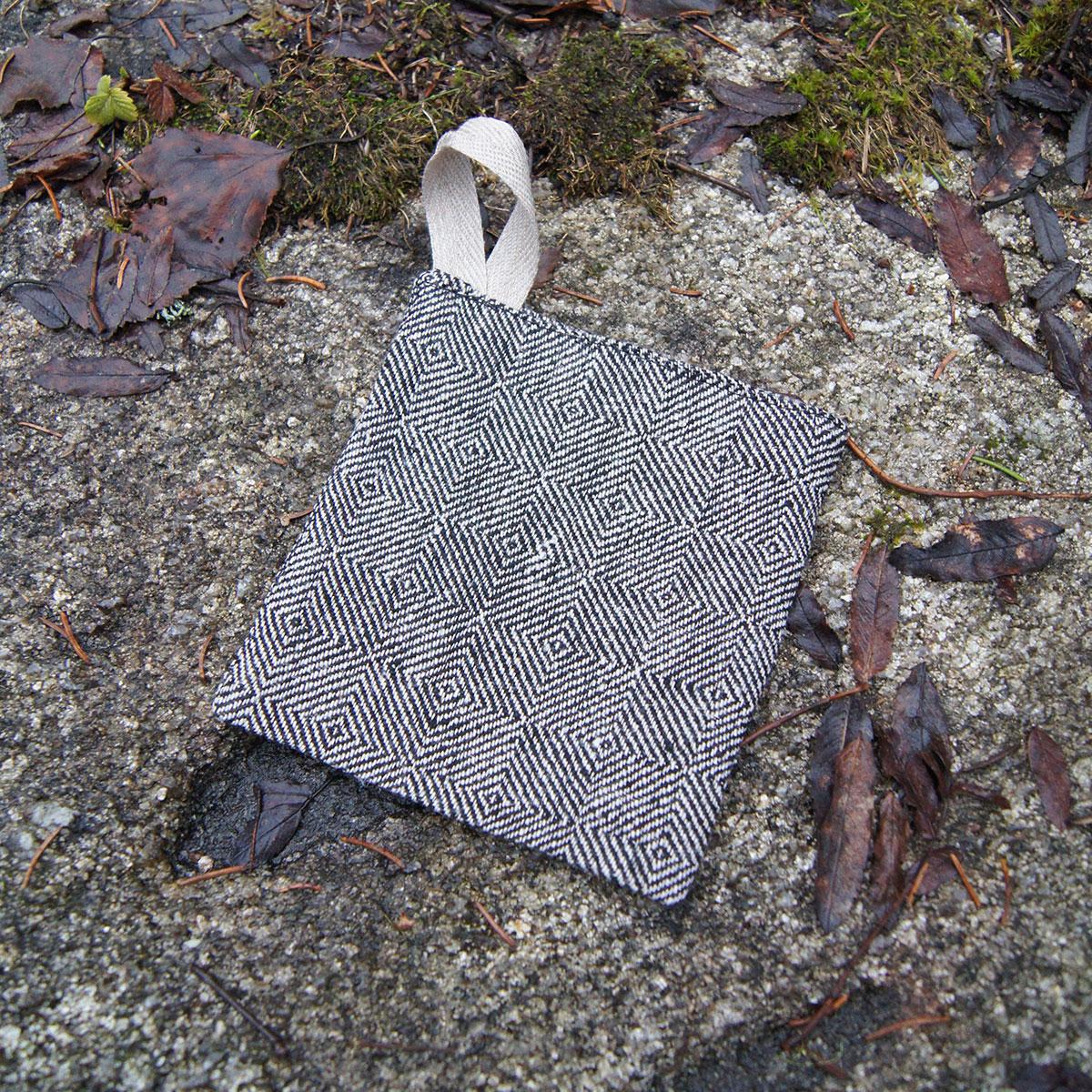 Tvättlapp linne gåsöga liten