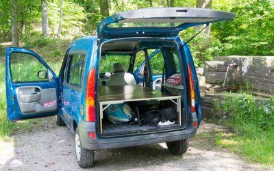 DIY camper van platform – Turn your car into a mini camper