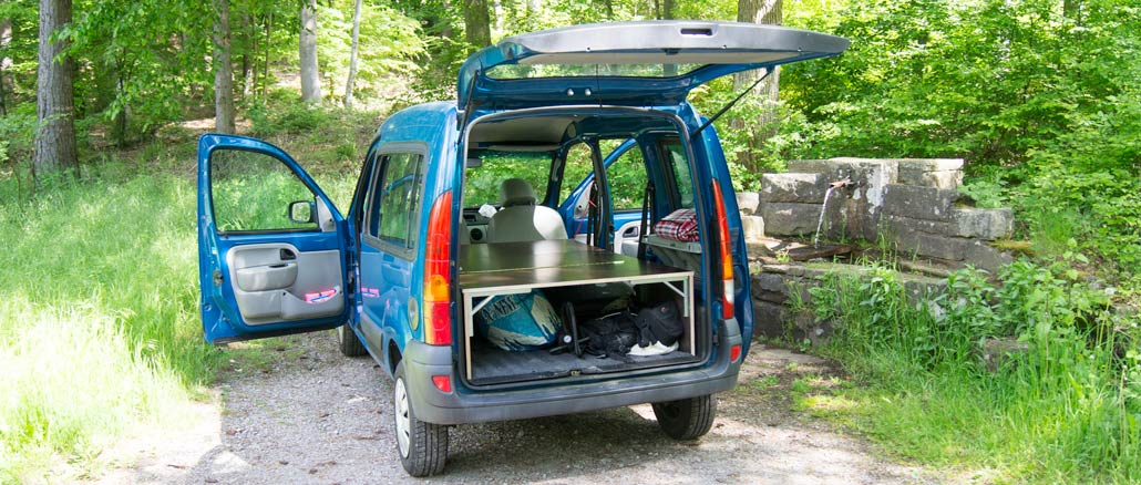 DIY camper van platform – Turn your car into a mini camper
