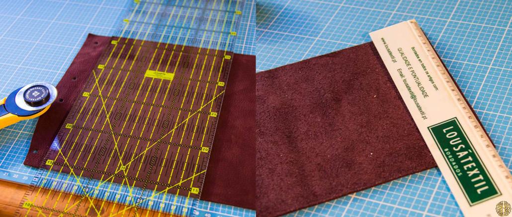 Material till att sy egna disktrasor i linnetyg