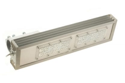 Application example LED luminaire made of heat sink aluminum profile SVETOCH STRADA for LED modules for LED lighting in industry, commerce, indoor and outdoor halls