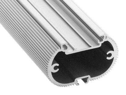 Profil aluminiowy LED SVETOCH MINI do oświetlenia przemysłowego, handlowego i biurowego z szyną prowadzącą do taśm LED i modułów LED