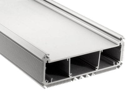 Led aluminium profile SVETOCH NEW for the use of high-performance LED modules