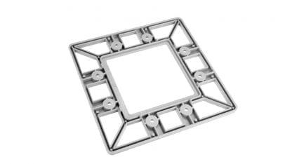 PROFI Profil-Endkappe für Aluminium Hochleistungskühlkörper SVETOCH PROFI
