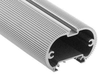 Profil aluminiowy LED SVETOCH MINI do oświetlenia przemysłowego, handlowego i biurowego z szyną prowadzącą do zawieszenia i montażu sufitowego