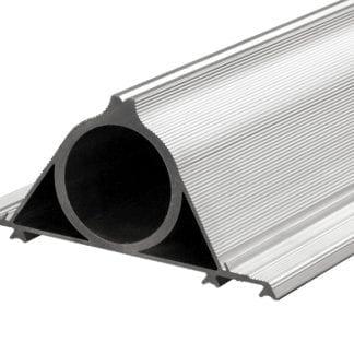 Befestigung SVETOCH KONSOLE DUO für schnelle Rohrbefestigung von SVETOCH Aluminiumprofilen