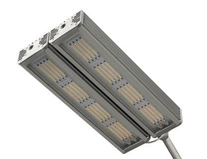 Anwendungsbeispiel eine LED Straßenleuchte aus den LED Komponenten SVETOCH INDUSTRY und SVETOCH DUO