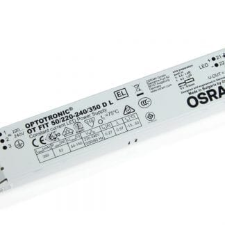 Transformator sterownik LED OSRAM Optotronic OT FIT 50 / 220-240 / 350 D L do oświetlenia LED