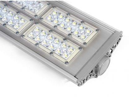 Przykład zastosowania oprawy LED do montażu na rurze z aluminiowego radiatora SVETOCH MAGISTRAL II