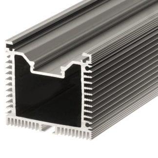 Heatsink aluminum profile SVETOCH QUADRO