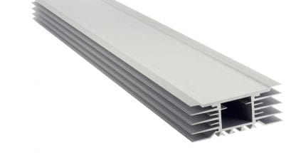 Led aluminium profile SVETOCH STRADA with high heat dissipation for high-power LED modules