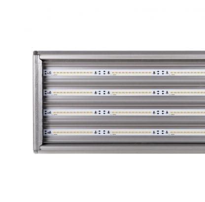 High-power LED stripe in LED light made of LED components of the SVETOCH SVETOCH series