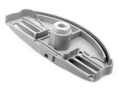 Innenansicht Endkappe SVETOCH ARCTIC mit PG7 für LED Aluminum-Profil