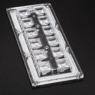 LED Optik - LEDiL - CS14130_HB-IP-2X6-W - für 2x6 LED Module zur Beleuchtung von Straßen, Plätze, Gehwege, Lager