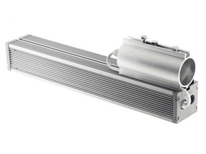 LED apšvietimas su vamzdžio priedu DUO iš SVETOCH QUADRO serijos