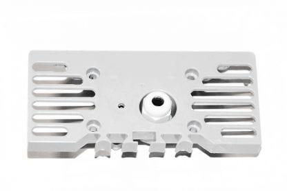 Exterior view end cap for LED aluminium profile SVETOCH STRADA with PG7