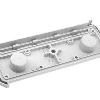 Vista interna profilo LED tappo terminale SVETOCH in plastica ABS