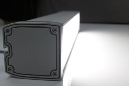 Profilowa zaślepka do światła LED z komponentów serii radiatorów LED SVETOCH LINE