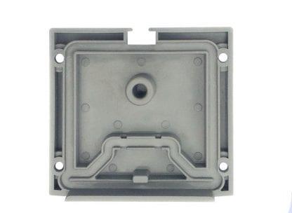 Notranjost pogled LED aluminijasti profil končni pokrovček SVETOCH QUADRO
