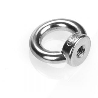 Ring nuts made of stainless steel A2 - cast