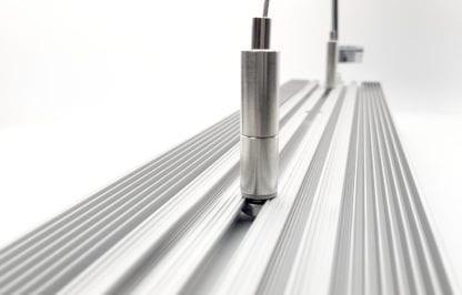 Drahtseilabhängung am LED Aluminiumprofil