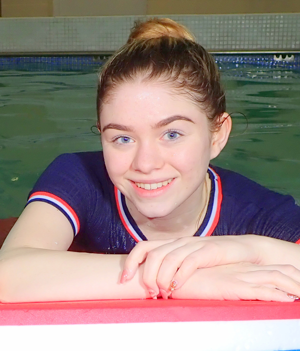 Amy, swimming instructor
