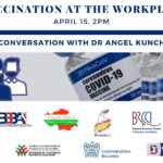 Dr. Angel Kunchev on vaccination at the workplace
