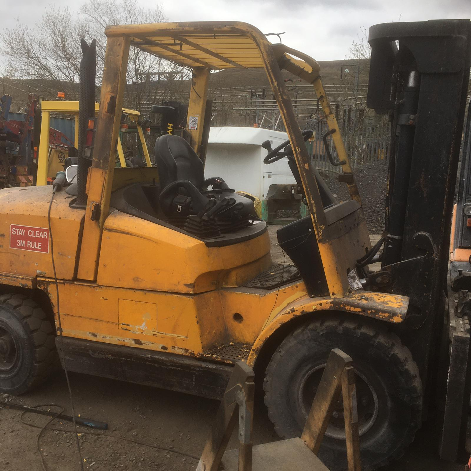 Hyster Before
