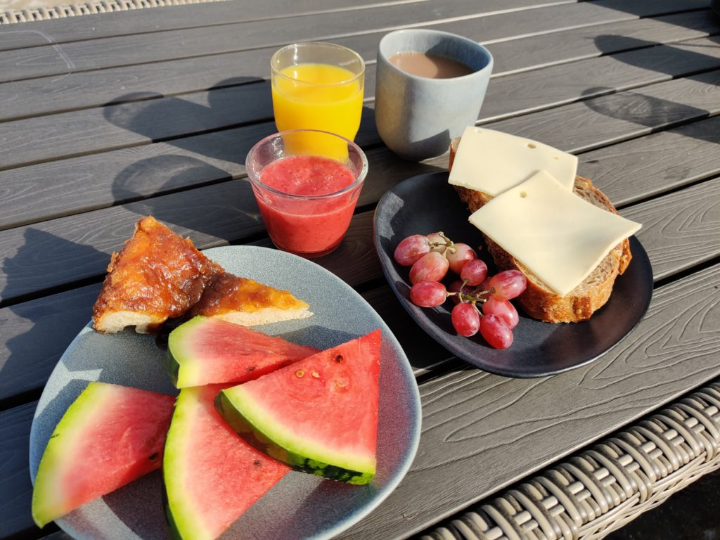 Morgenmad på Birkelygaard