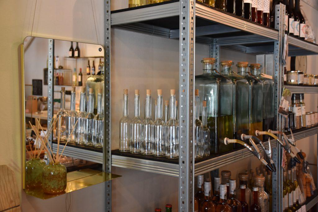 Olie og balsamico i Tallerkengalleriet