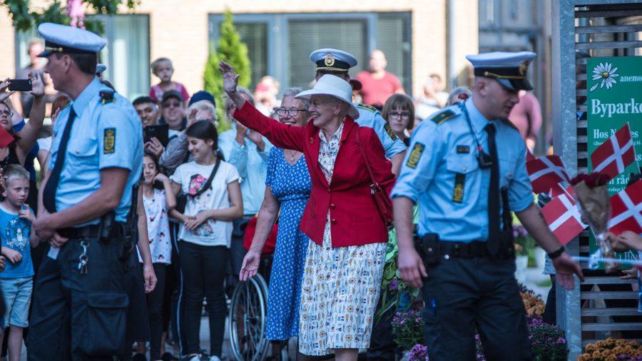 Dronning Margrethe på besøg i Afdeling Skovparken, Svendborg