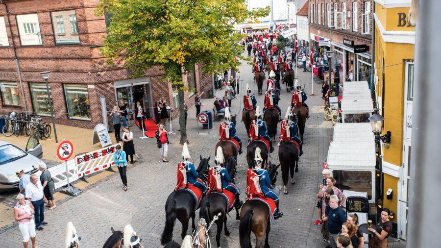 Livgardens hesteeskadron i Gerritsgade
