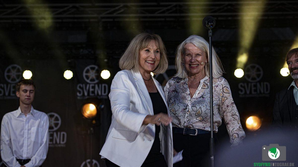 Susse Wold og Kirsten Olesen