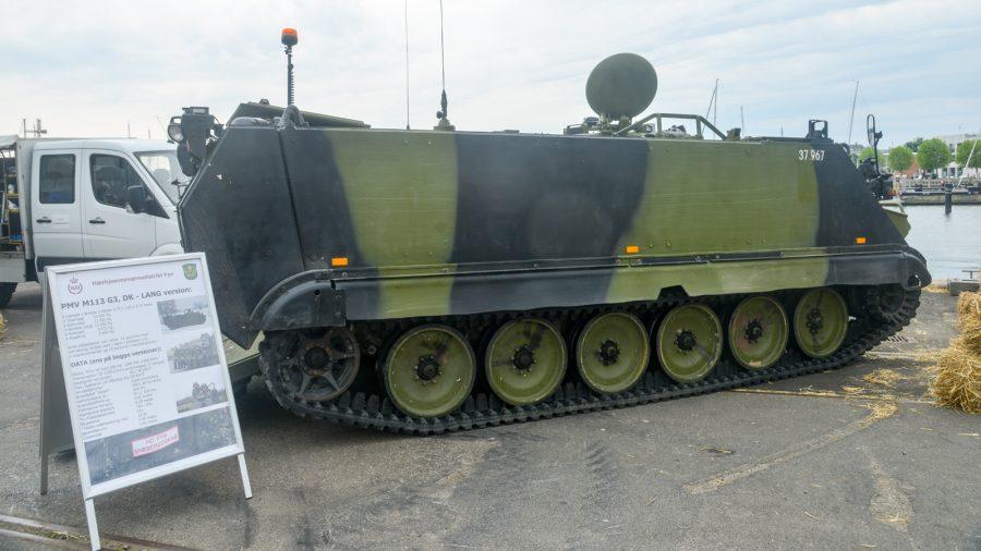 Panseret mandskabsvogn M113