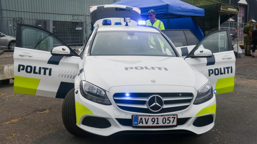 Mercedes politibil