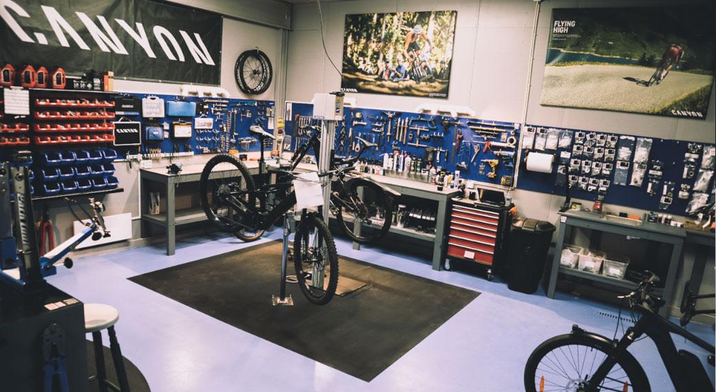 Vårt sykkelverksted i Moss er effektivt og utfører arbeid av høy kvalitet
