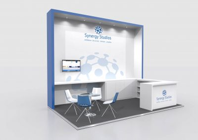 5m x 3m Exhibition Stand Design