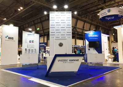 Bespoke Modular Stand at The Security Event, NEC Birmingham