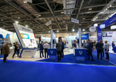 IFSEC London Bespoke Modular Exhibition Stand