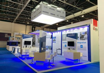 Bespoke Intersec Exhibition Stand