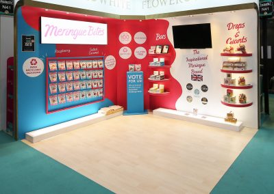 Custom Exhibition Stand for IFE London & Lunch! London
