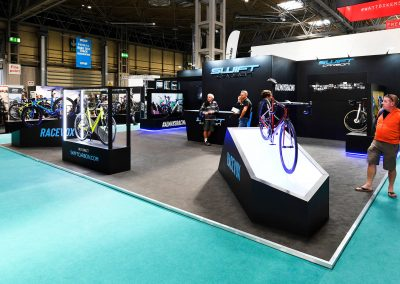 The Cycle Show Bespoke Exhibition Stand