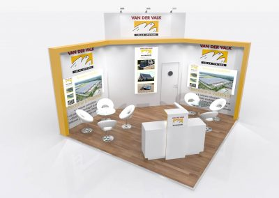 5m x 5m Exhibition Stand Design