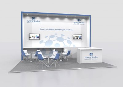 6m x 4m Exhibition Stand Design