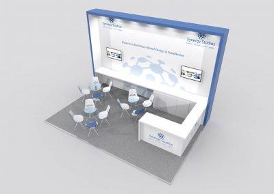 6m x 4m Exhibition Stand Design
