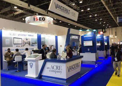 Custom Exhibition Stand at Intersec Dubai
