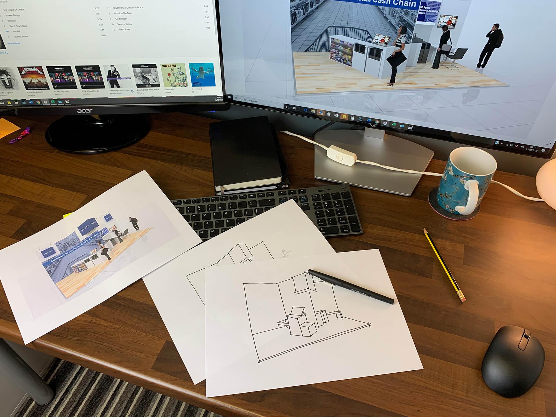 design bespoke exhibition stands
